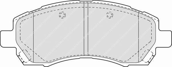 Тормозные колодки Тормозные колодки Ferodo PAGID арт. FDB1612