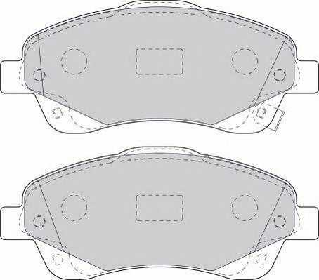 Тормозные колодки Тормозные колодки Ferodo PAGID арт. FDB1648