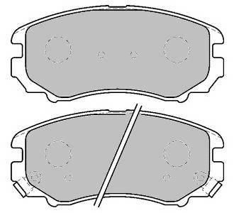 Тормозные колодки Тормозные колодки Ferodo ABE арт. FDB1733