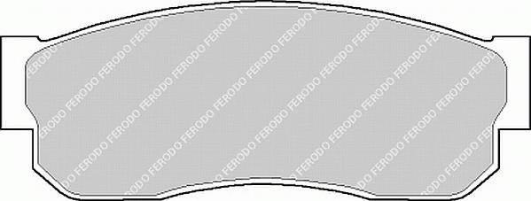 Тормозные колодки Тормозные колодки Ferodo ABE арт. FDB293