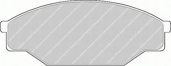 Тормозные колодки Тормозные колодки дисковые PAGID арт. FDB318