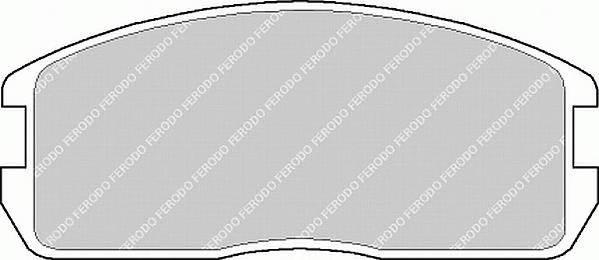 Тормозные колодки Тормозные колодки дисковые PAGID арт. FDB357