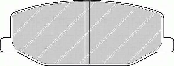Гальмівні колодки, дискові ABE арт. FDB396