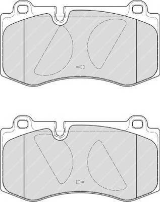 Тормозные колодки Тормозные колодки Ferodo ABE арт. FDB4055