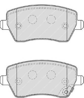 Тормозные колодки Тормозные колодки Ferodo ABE арт. FDB4069