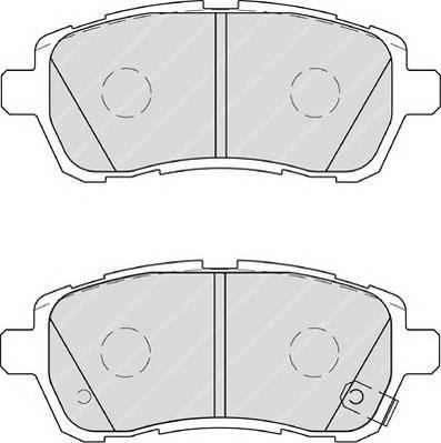 Тормозные колодки Тормозные колодки Ferodo ABE арт. FDB4110