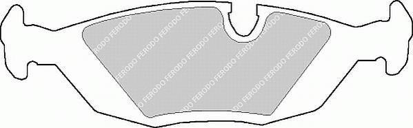 Тормозные колодки Тормозные колодки Ferodo PAGID арт. FDB562