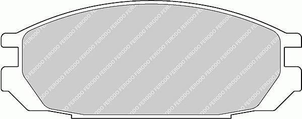 Тормозные колодки Тормозные колодки Ferodo PAGID арт. FDB937