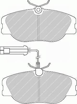 Тормозные колодки Тормозные колодки дисковые ABE арт. FDB994