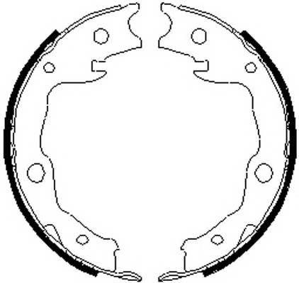 Тормозные колодки Тормозные колодки ABE арт. FSB4035