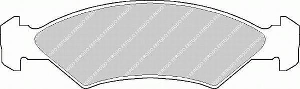 Тормозные колодки Тормозные колодки Ferodo ABE арт. FSL365