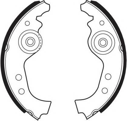 Тормозные колодки Тормозные колодки барабанные FERODO арт. FSB27