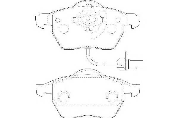 Тормозные колодки Тормозные колодки Wagner PAGID арт. WBP20676A