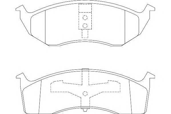 Тормозные колодки Тормозные колодки Wagner PAGID арт. WBP23043A