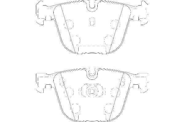 Тормозные колодки Тормозные колодки Wagner PAGID арт. WBP23309A