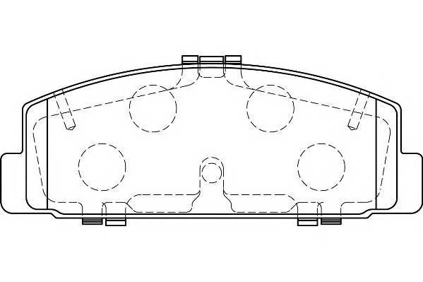 Тормозные колодки Тормозные колодки Wagner PAGID арт. WBP24045A