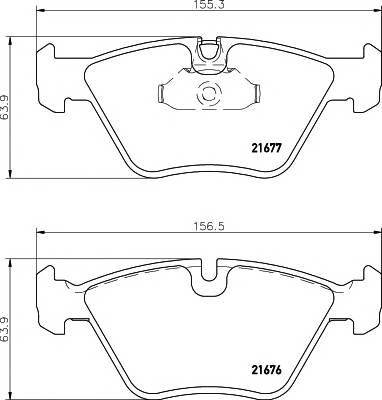 Тормозные колодки Тормозные колодки дисковые TEXTAR PAGID арт. 2167703