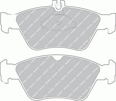 Тормозные колодки Тормозные колодки дисковые ABE арт. FDB1049