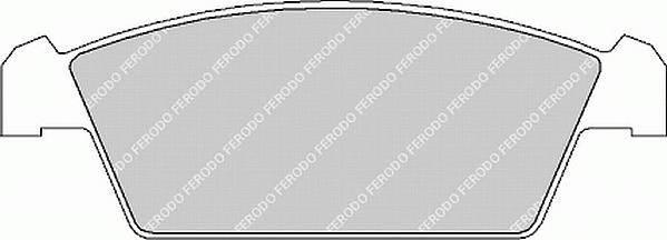 Тормозные колодки Тормозные колодки Ferodo PAGID арт. FDB1108
