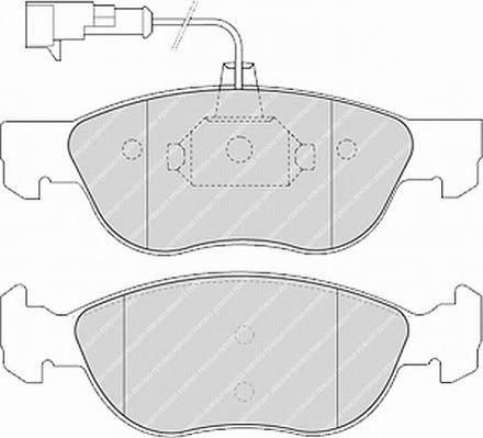 Тормозные колодки Тормозные колодки Ferodo PAGID арт. FDB1137