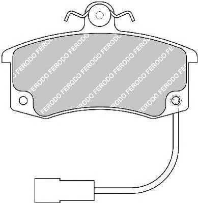 Тормозные колодки Тормозные колодки передние Lada 2110 Ferodo PAGID арт. FDB1325