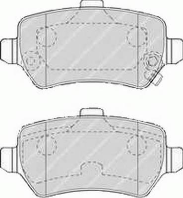 Гальмівні колодки, дискові PAGID арт. FDB1521