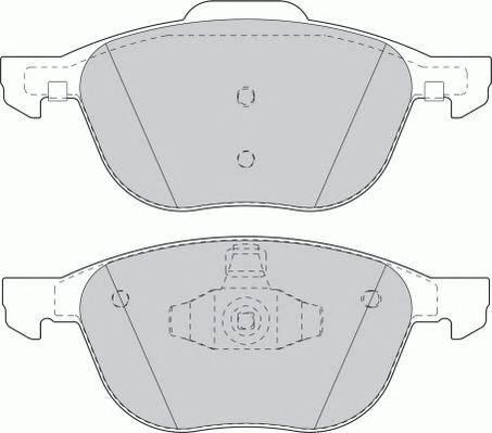 Тормозные колодки Тормозные колодки дисковые PAGID арт. FDB1594