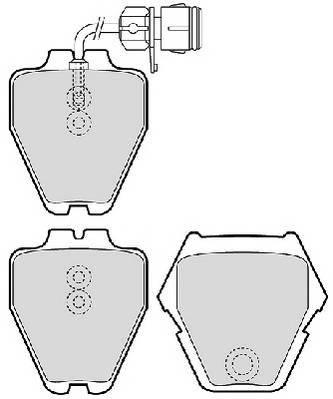 Тормозные колодки Тормозные колодки дисковые PAGID арт. FDB1710