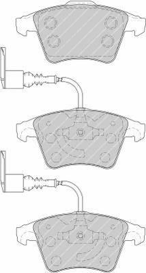 Тормозные колодки Тормозные колодки дисковые PAGID арт. FDB1826