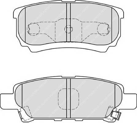 Тормозные колодки Тормозные колодки дисковые PAGID арт. FDB1839