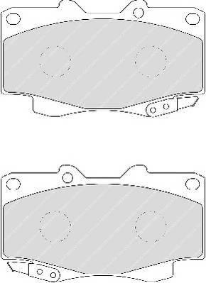 Тормозные колодки Тормозные колодки Ferodo ABE арт. FDB1852