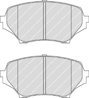 Тормозные колодки Тормозные колодки Ferodo ABE арт. FDB1893