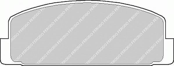 Тормозные колодки Тормозные колодки Ferodo PAGID арт. FDB372