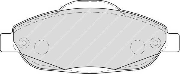 Тормозные колодки Тормозные колодки Ferodo ABE арт. FDB4003