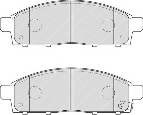 Тормозные колодки Тормозные колодки Ferodo ABE арт. FDB4023