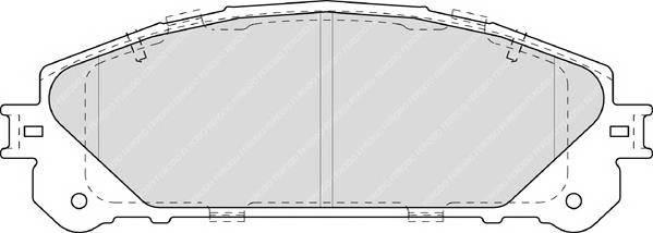 Гальмівні колодки, дискові ABE арт. FDB4354