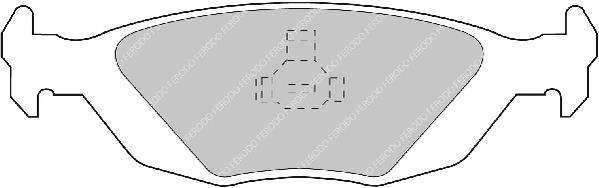 Тормозные колодки Тормозные колодки Ferodo PAGID арт. FDB506