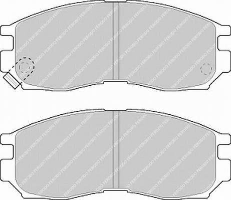 Тормозные колодки Тормозные колодки Ferodo ABE арт. FDB764