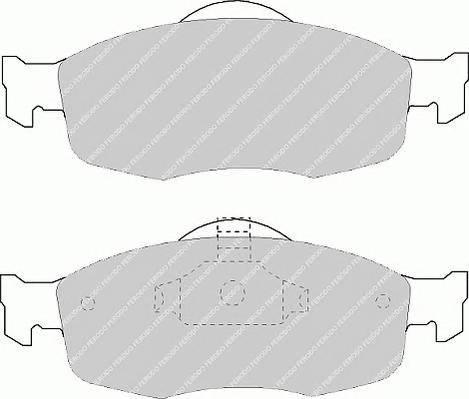 Тормозные колодки Тормозные колодки дисковые PAGID арт. FDB884