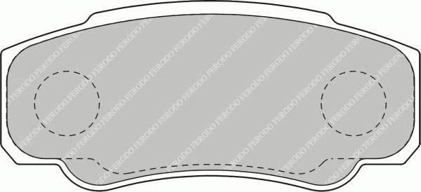 Тормозные колодки Тормозные колодки Ferodo PAGID арт. FVR1480