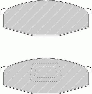 Тормозные колодки Тормозные колодки Ferodo PAGID арт. FVR321
