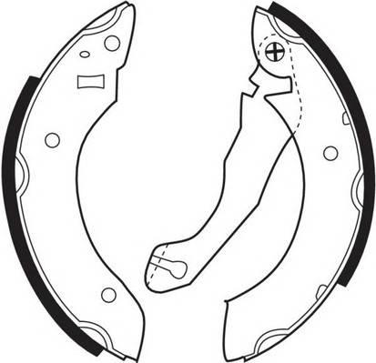 Тормозные колодки Тормозные колодки барабанные FERODO арт. FSB164